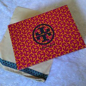 Tory Burch Shoebox & Dust Bag